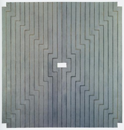 Frank Stella Aluminum Paintings