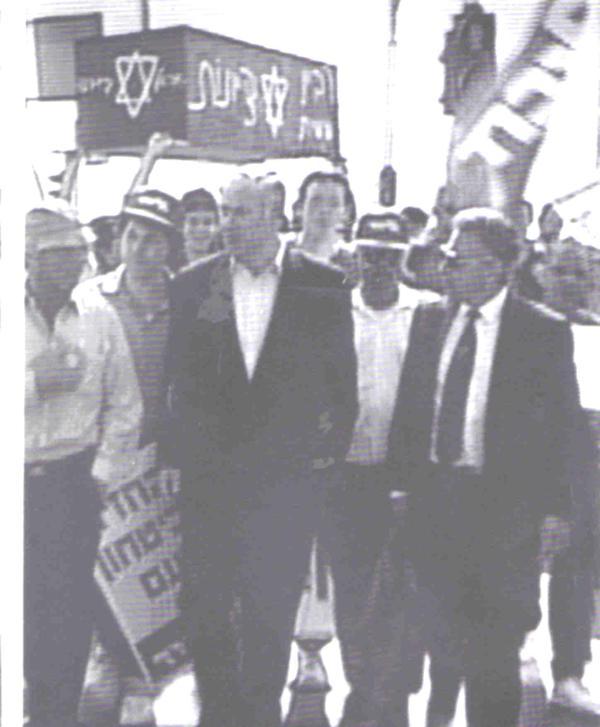 netanyahu rabin coffin
