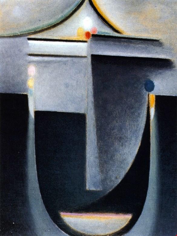 Jawlensky Abstract-Head inner vision