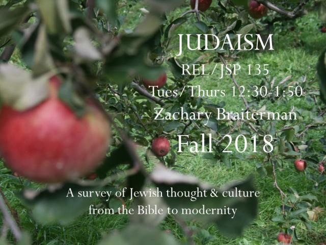 POS REL 135_Intro to Judaism_2018 flyer_ZB_MCR
