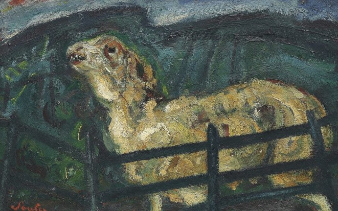 Soutine-Sheep-Behind-a-Fence-private-collection-1024x640