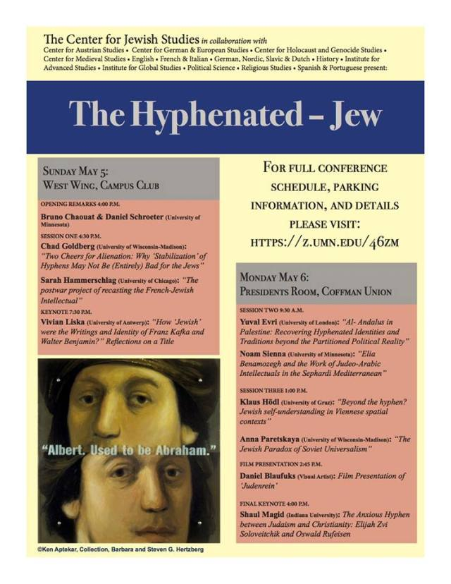 hyphenated jew conferene