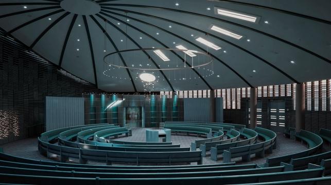 empty synagogue